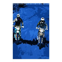 Motorsport  Shower Curtain 48  X 72  (small)  by Valentinaart