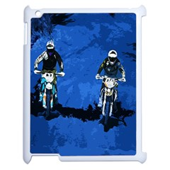 Motorsport  Apple Ipad 2 Case (white) by Valentinaart