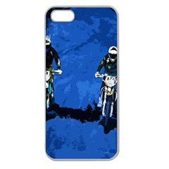 Motorsport  Apple Seamless Iphone 5 Case (clear) by Valentinaart