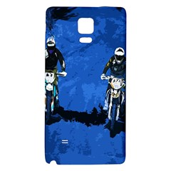 Motorsport  Galaxy Note 4 Back Case by Valentinaart