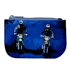 Motorsport  Large Coin Purse by Valentinaart