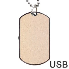 Pastel Colors Glitter Pattern Dog Tag Usb Flash (two Sides)