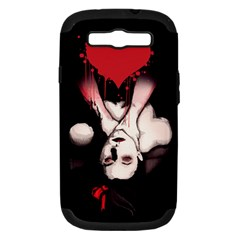 Choke Me Samsung Galaxy S Iii Hardshell Case (pc+silicone) by lvbart