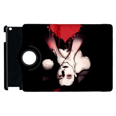 Choke Me Apple Ipad 3/4 Flip 360 Case by lvbart
