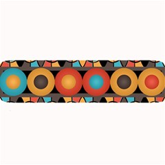 Colorful Geometric Composition Large Bar Mats by linceazul