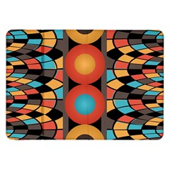 Colorful Geometric Composition Samsung Galaxy Tab 8 9  P7300 Flip Case by linceazul