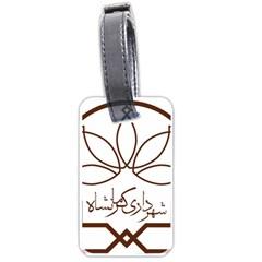 Seal Of Kermanshah  Luggage Tags (two Sides) by abbeyz71