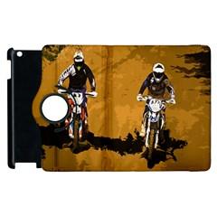 Motorsport  Apple Ipad 2 Flip 360 Case by Valentinaart