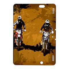 Motorsport  Kindle Fire Hdx 8 9  Hardshell Case by Valentinaart
