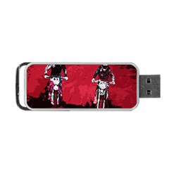 Motorsport  Portable Usb Flash (one Side) by Valentinaart