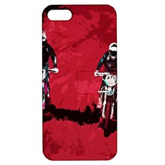 Motorsport  Apple Iphone 5 Hardshell Case With Stand by Valentinaart