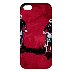 Motorsport  Apple Iphone 5 Premium Hardshell Case by Valentinaart