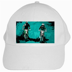 Motorsport  White Cap by Valentinaart