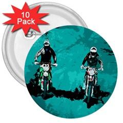 Motorsport  3  Buttons (10 Pack)  by Valentinaart