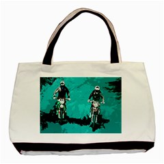 Motorsport  Basic Tote Bag (two Sides) by Valentinaart