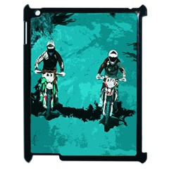 Motorsport  Apple Ipad 2 Case (black) by Valentinaart