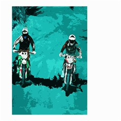 Motorsport  Small Garden Flag (two Sides) by Valentinaart