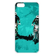 Motorsport  Apple Iphone 5 Seamless Case (white) by Valentinaart