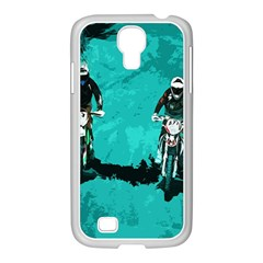 Motorsport  Samsung Galaxy S4 I9500/ I9505 Case (white) by Valentinaart