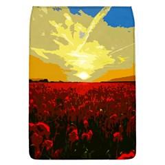 Poppy Field Flap Covers (l)  by Valentinaart