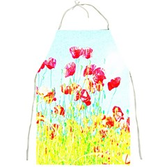 Poppy Field Full Print Aprons by Valentinaart
