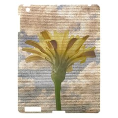 Shabby Chic Style Flower Over Blue Sky Photo  Apple Ipad 3/4 Hardshell Case by dflcprints