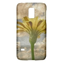 Shabby Chic Style Flower Over Blue Sky Photo  Galaxy S5 Mini by dflcprints