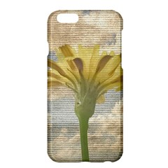 Shabby Chic Style Flower Over Blue Sky Photo  Apple Iphone 6 Plus/6s Plus Hardshell Case by dflcprints