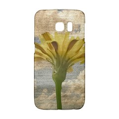 Shabby Chic Style Flower Over Blue Sky Photo  Galaxy S6 Edge by dflcprints