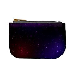 Galaxy Mini Coin Purse by PattyVilleDesigns