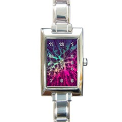 Just A Stargazer Rectangle Italian Charm Watch by augustinet