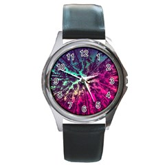 Just A Stargazer Round Metal Watch by augustinet