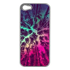 Just A Stargazer Apple Iphone 5 Case (silver) by augustinet