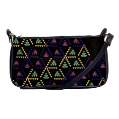 Triangle Shapes                              Shoulder Clutch Bag by LalyLauraFLM