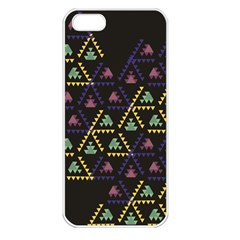 Triangle Shapes                        Apple Iphone 5 Seamless Case (white)
