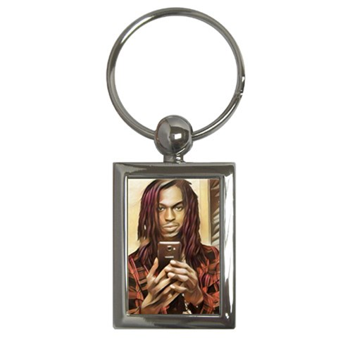 By Juju   Key Chain (rectangle)   Yrliml02slgr   Www Artscow Com Front