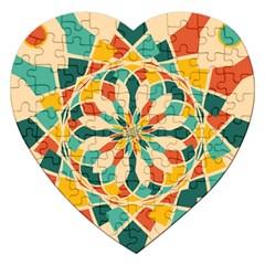 Summer Festival Jigsaw Puzzle (heart) by linceazul
