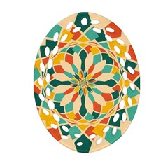 Summer Festival Ornament (oval Filigree) by linceazul