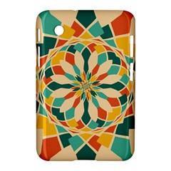 Summer Festival Samsung Galaxy Tab 2 (7 ) P3100 Hardshell Case  by linceazul