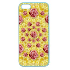Roses And Fantasy Roses Apple Seamless Iphone 5 Case (color) by pepitasart
