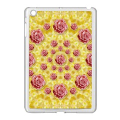 Roses And Fantasy Roses Apple Ipad Mini Case (white) by pepitasart