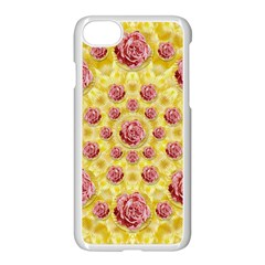 Roses And Fantasy Roses Apple Iphone 7 Seamless Case (white) by pepitasart