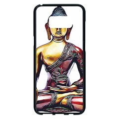 Buddha Samsung Galaxy S8 Plus Black Seamless Case by taoteching