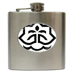 Seal Of Bandar Abbas Hip Flask (6 Oz) by abbeyz71