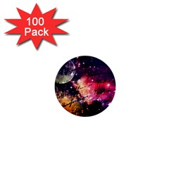 Letter From Outer Space 1  Mini Buttons (100 Pack)  by augustinet