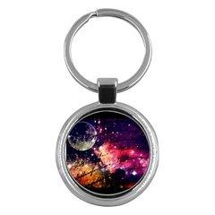 Letter From Outer Space Key Chains (round)  by augustinet