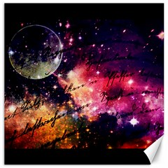 Letter From Outer Space Canvas 12  X 12   by augustinet