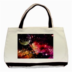 Letter From Outer Space Basic Tote Bag (two Sides) by augustinet