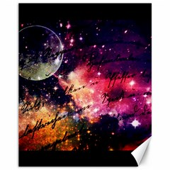 Letter From Outer Space Canvas 11  X 14   by augustinet