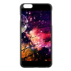 Letter From Outer Space Apple Iphone 6 Plus/6s Plus Black Enamel Case